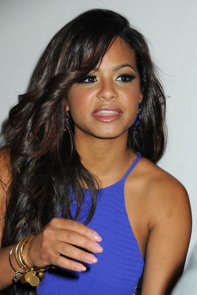More Pics of Christina Milian Long Wavy Cut (5 of 24) - Long Wavy Cut Lookbook - StyleBistro