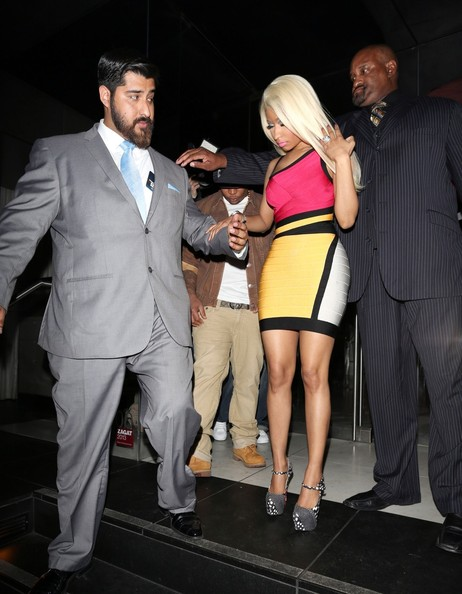 More Pics of Nicki Minaj Platform Pumps (1 of 21) - Nicki Minaj Lookbook - StyleBistro