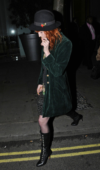 Florence Welch Lace Up Boots []
