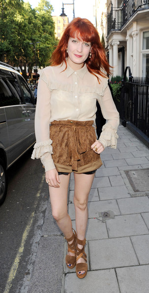 Florence Welch Short Shorts