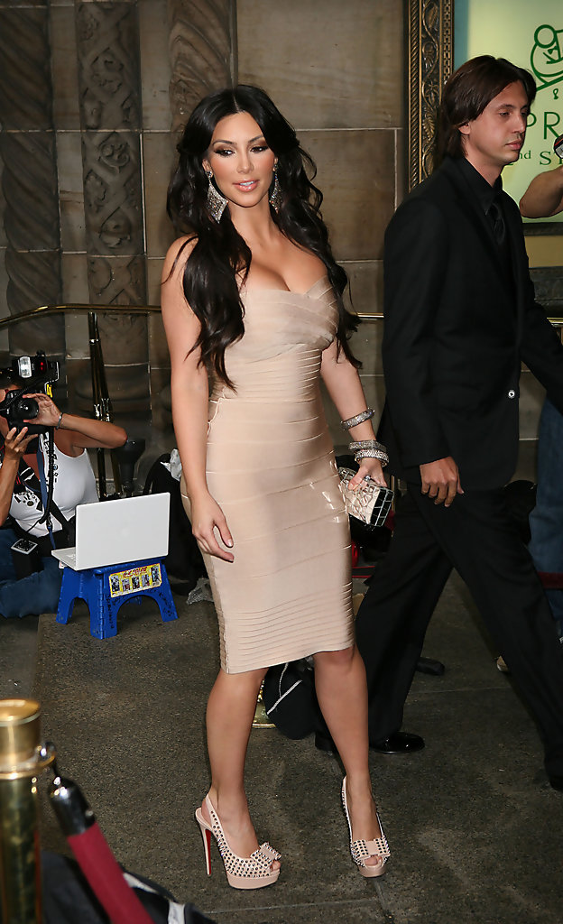 Kim Kardashian - Hollywood's Hottest Bandage Dresses