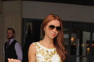 Una Healy Sparkles In A Beaded Romper