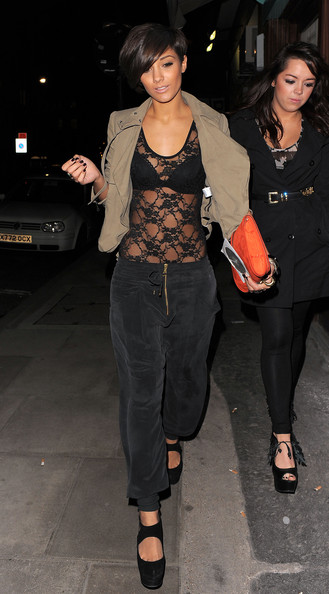 More Pics of Frankie Sandford Suede Clutch (1 of 7) - Frankie Sandford Lookbook - StyleBistro