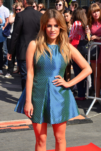More Pics of Caroline Flack Print Dress (1 of 4) - Caroline Flack Lookbook - StyleBistro