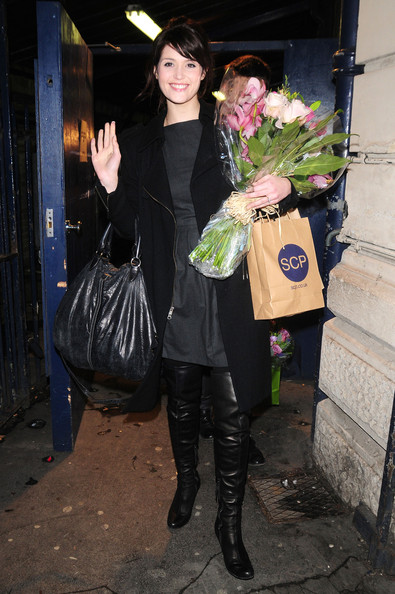 Gemma Arterton Over the Knee Boots