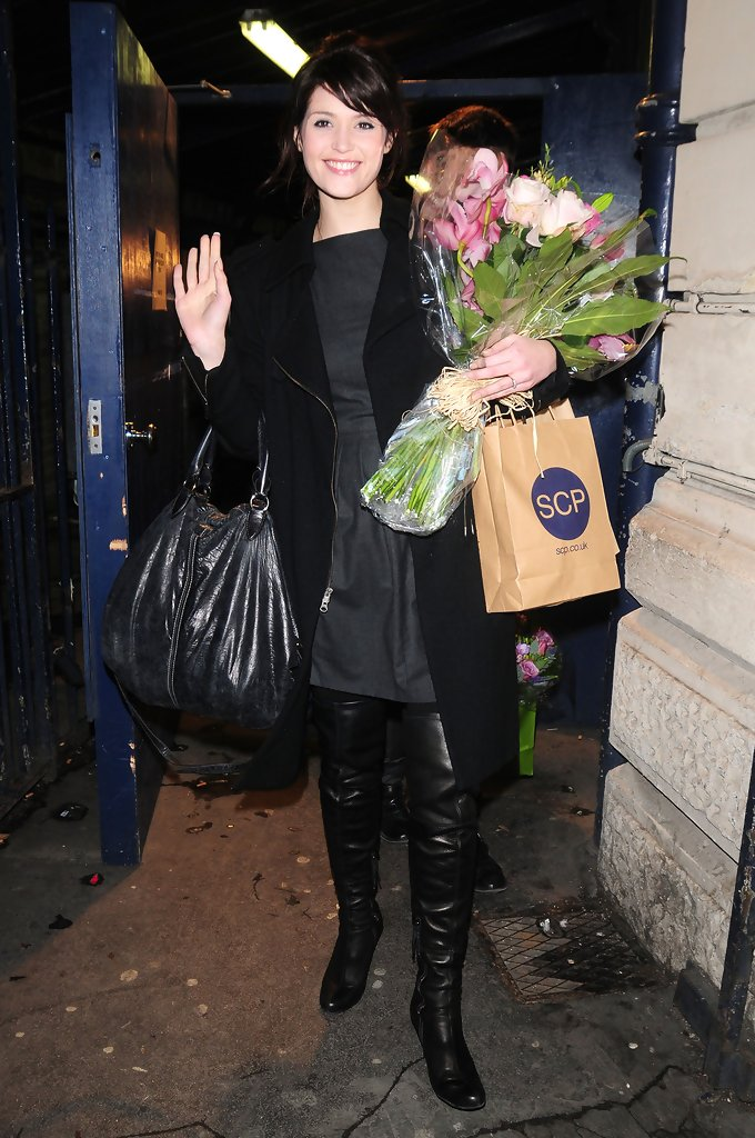 Gemma Arterton Over The Knee Boots Gemma Arterton Boots