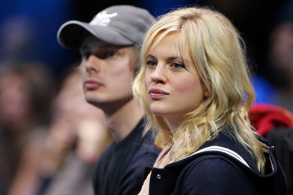 Scottish Actress Georgia King and her boyfriend Bradley James at the Tennis Masters in London
