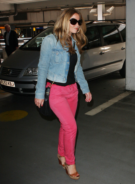 More Pics of Kimberley Walsh Wedges  (1 of 5) - Kimberley Walsh Lookbook - StyleBistro