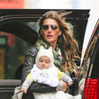 Gisele Bundchen in New York with Vivian