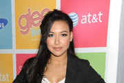 Naya Rivera attending the Glee Samsung AT&T Spring Fling at the Gansevoort Park Lounge in New York.