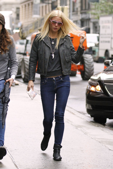 Gwyneth Paltrow Leather Jacket