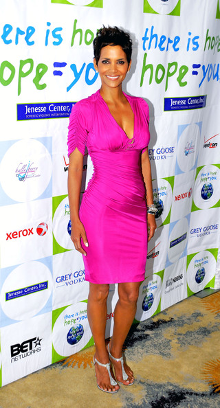 Halle Berry Cocktail Dress []