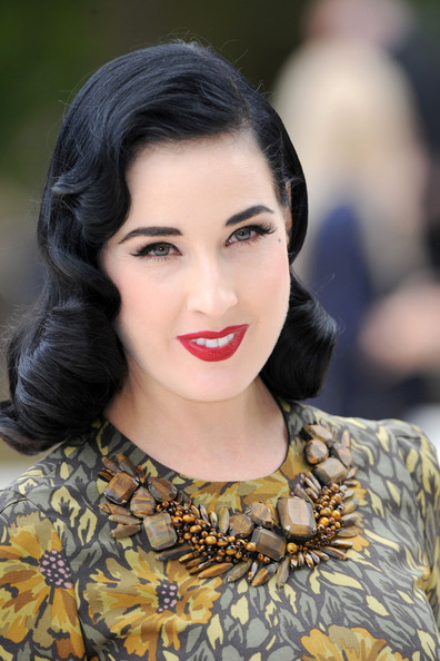 More Pics of Dita Von Teese Cat Eyes (2 of 7) - Cat Eyes Lookbook - StyleBistro