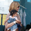 Heidi Klum and Lou Go to a Nursery, 2010