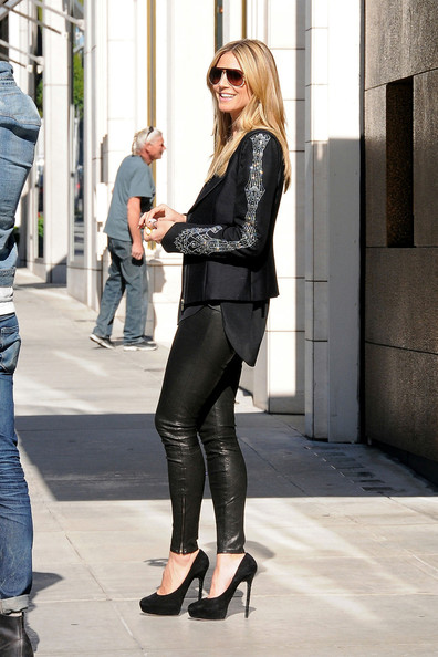 More Pics of Heidi Klum Blazer (1 of 11) - Heidi Klum Lookbook - StyleBistro