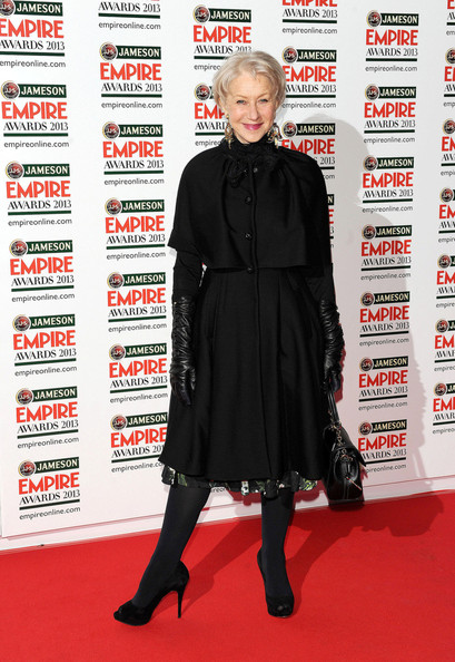 Helen Mirren Evening Coat