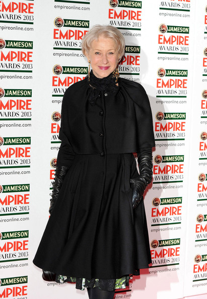 More Pics of Helen Mirren Evening Coat (1 of 6) - Helen Mirren Lookbook - StyleBistro