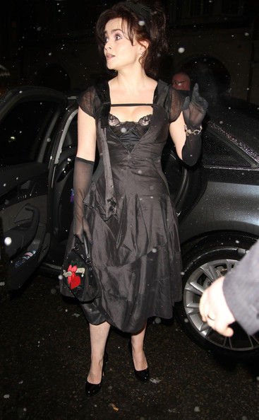 More Pics of Helena Bonham Carter Satin Purse (4 of 10) - Satin Purse Lookbook - StyleBistro