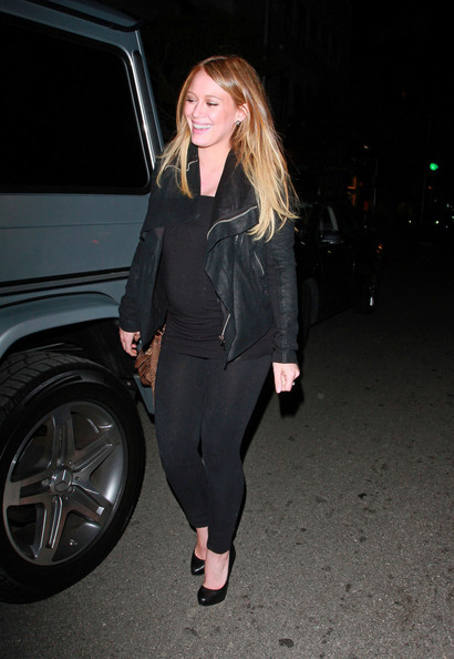 Hilary Duff Bomber Jacket