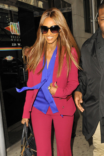 Iman Arrives for 'Wendy Williams'