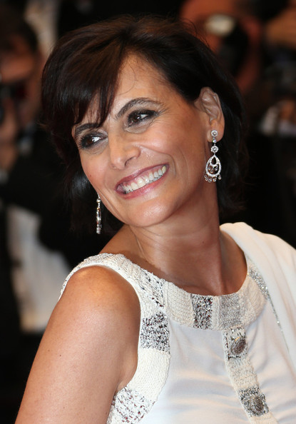 Ines de la Fressange Diamond Chandelier Earrings