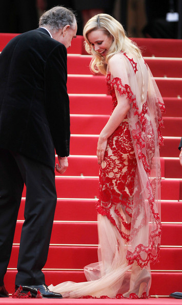 Rachel McAdams in Marchesa at the 2011 Cannes Film Festival