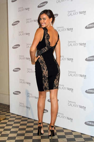 Irina Shayk Bandage Dress