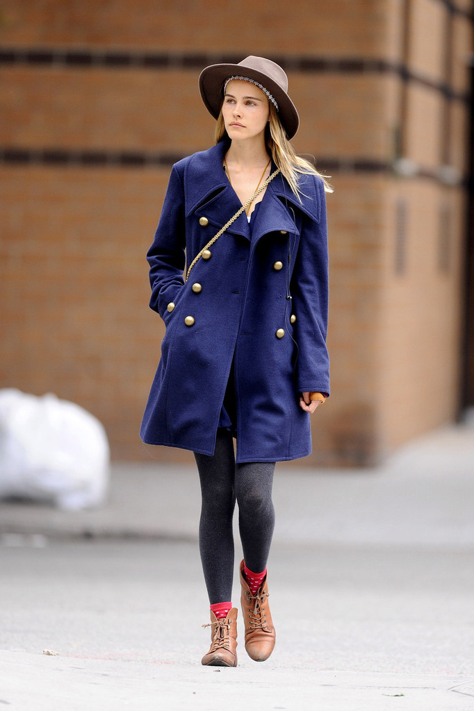 Isabel Lucas is spotted strolling around Soho in New York City.
