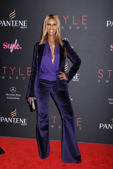 More Pics of Iman Long Straight Cut (1 of 3) - Iman Lookbook - StyleBistro
