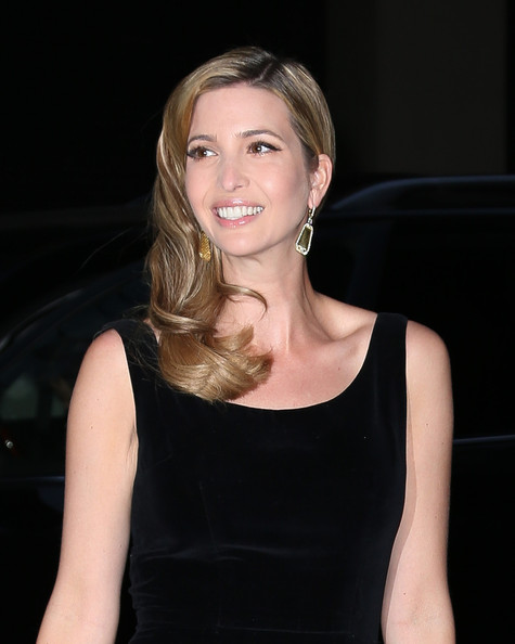 More Pics of Ivanka Trump Long Wavy Cut (1 of 8) - Long Wavy Cut Lookbook - StyleBistro