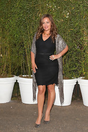 Jade Jagger's fitted LBD was a simple but classic choice.