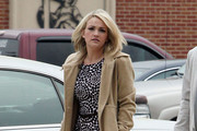Jamie Lynn Spears Wool Coat