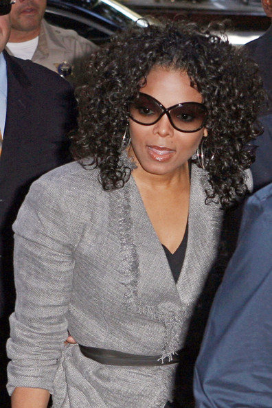 Janet Jackson Floating Lens Sunglasses