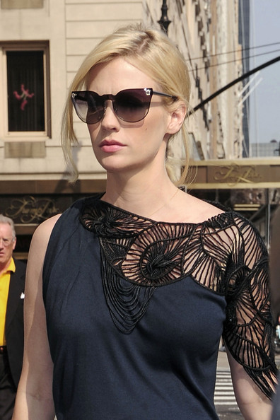 January Jones Cateye Sunglasses []