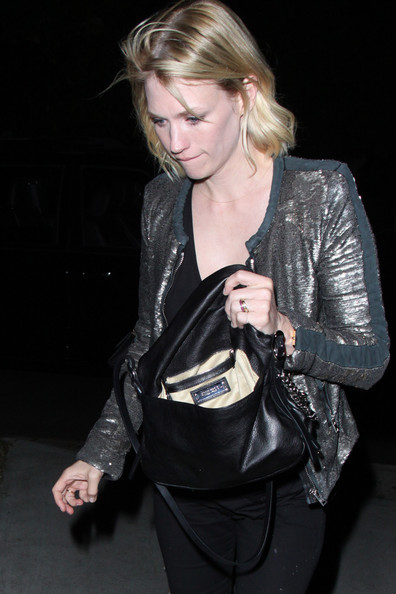 More Pics of January Jones Skinny Jeans (4 of 19) - January Jones Lookbook - StyleBistro