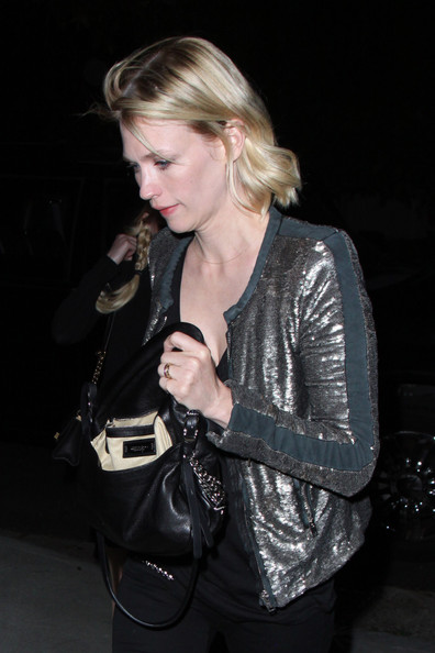 More Pics of January Jones Skinny Jeans (1 of 19) - January Jones Lookbook - StyleBistro