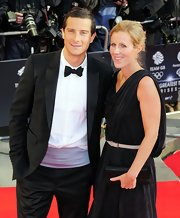 Bear Grylls took a break from his adventures and donned a tux for a British Olympic team gala, with handsome results.