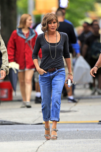 Jennifer Aniston Platform Sandals