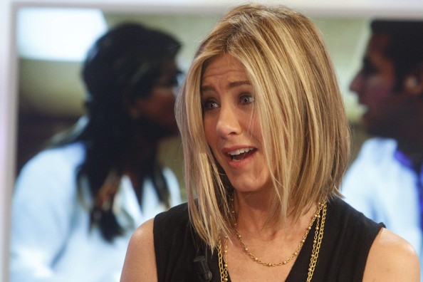 Jennifer Aniston Asymmetrical Cut