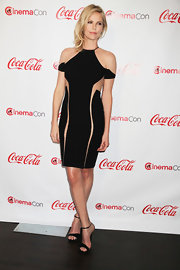 Charlize Theron took the LBD to a whole new level at CinemaCon in Vegas. Behold the magic of flesh-toned mesh!