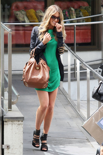 Jennifer Hawkins Leather Tote
