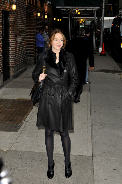 More Pics of Jennifer Lawrence Ankle Boots (4 of 10) - Ankle Boots Lookbook - StyleBistro