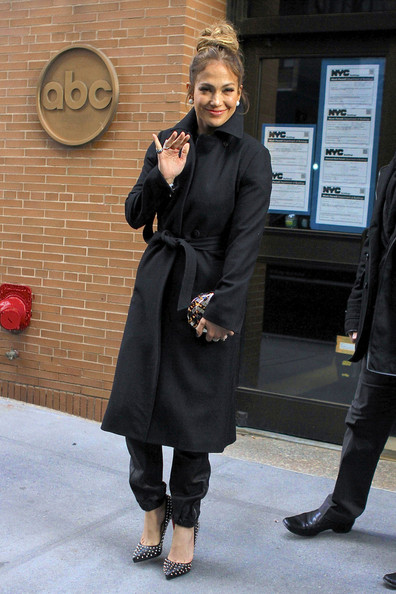 More Pics of Jennifer Lopez Wool Coat (8 of 15) - Wool Coat Lookbook - StyleBistro