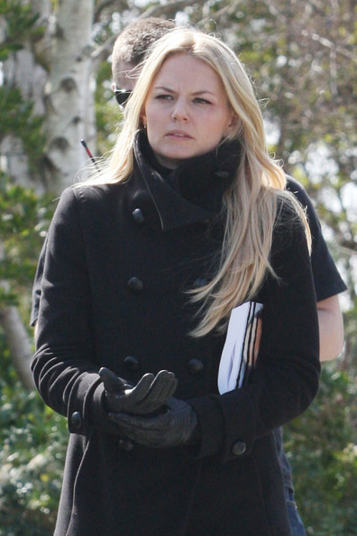 More Pics of Jennifer Morrison Pea Coat (1 of 11) - Jennifer Morrison Lookbook - StyleBistro