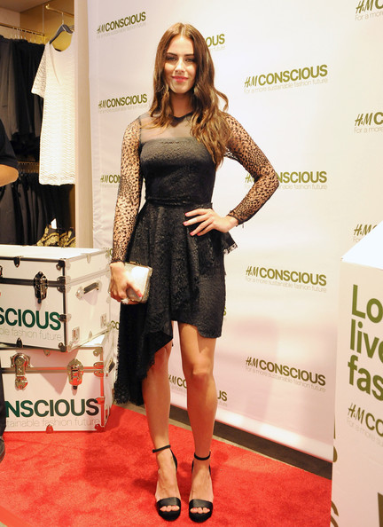 More Pics of Jessica Lowndes Little Black Dress (5 of 20) - Jessica Lowndes Lookbook - StyleBistro