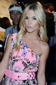 Actress Tinsley Mortimer showed off her long wavy mane while attending the Operation Smile event in New York City.