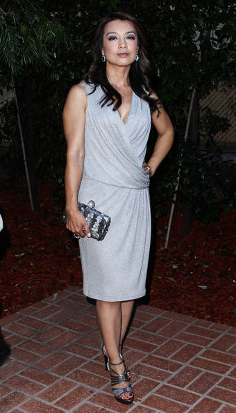 More Pics of Ming-Na Wen Long Wavy Cut (1 of 7) - Ming-Na Wen Lookbook - StyleBistro