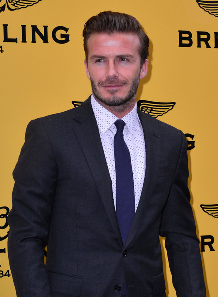 More Pics of David Beckham Men's Suit (1 of 5) - David Beckham Lookbook - StyleBistro