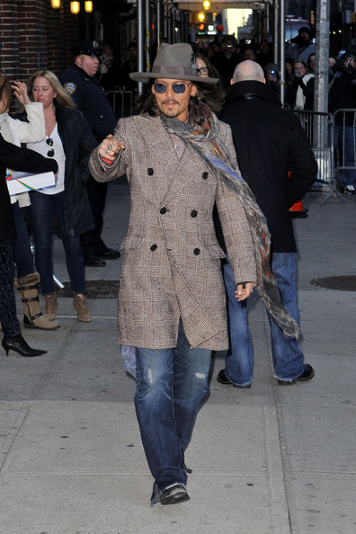 Johnny Depp Evening Coat