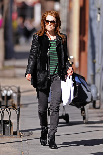 Julianne Moore Leather Jacket